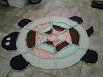 Child's Rag Turtle Quilt - Gender Neutral